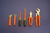 """Ampco INSULATED SCREWDRIVER, PHILLIPS TYPE #2, 4"""" X 7-1/2"""""""